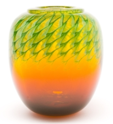glass vase by Jon Offutt