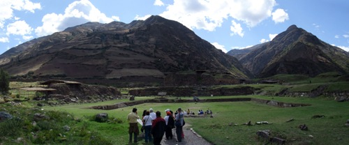 Panorama of Chavín