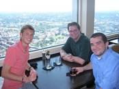 Matt Braithwaite, Dr. Larson and Jordan Anderson Daniels