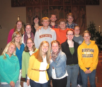 Campus MInistry Staff for 2012-2013
