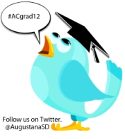 twitter hashtag is #ACgrad12
