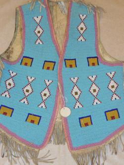 American Indian vest from Collection