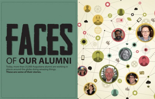 Faces of our alumni