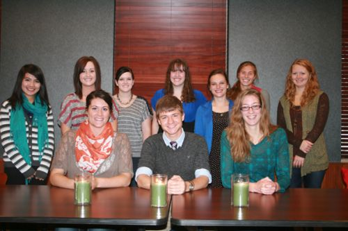 Student members of Lambda Pi Eta