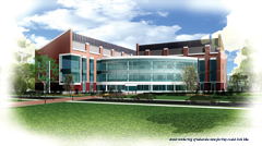 new science facility artist rendering