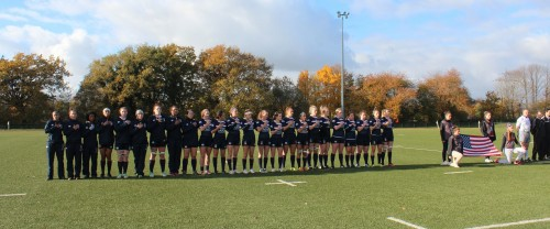 WCAA Women's Rugby team in Fraace