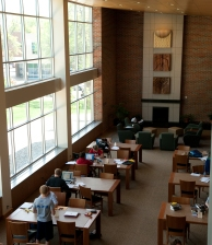Newly Renovated Mikkelsen Library