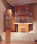 Tracker pipe organ built by John Nordlie