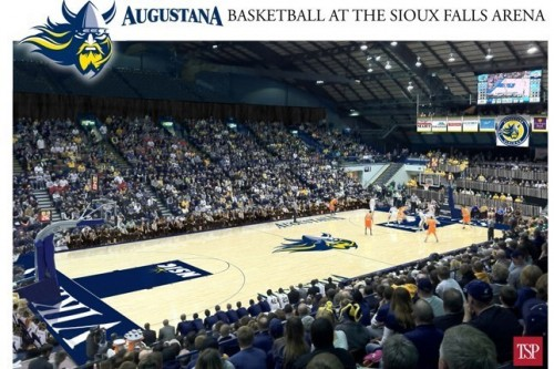 renderings of basketball at the Sioux Falls Arena