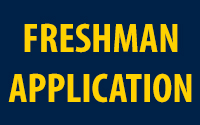 Freshman Application button