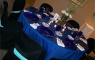 Table at President's Dinner