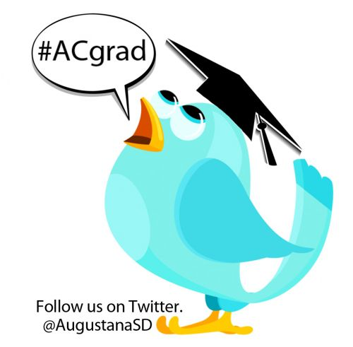 Twitter hashtag is #ACgrad