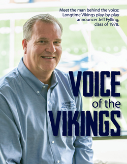 Jeff Fylling, Voice of the Vikings