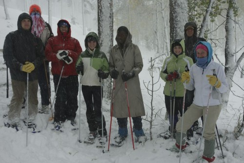 "Craig Spencer's ""Principle's of Ecology"" class in the Black Hills"