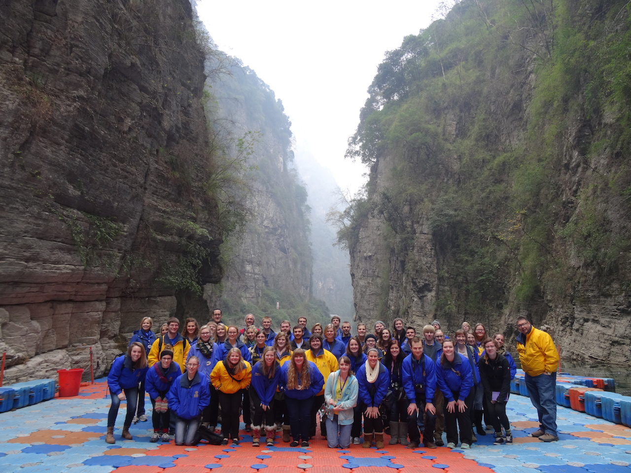 AU Band in Qutang Gorge
