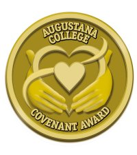 Augustana College Covenant award logo