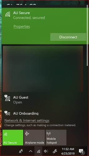 AU Secure - Microsoft Windows 10 Onboarding | Augustana