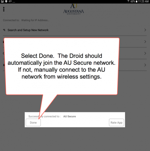 AU Secure - Android | Augustana University