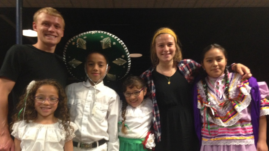 Tori and Austin with Pueblo de Dios youth