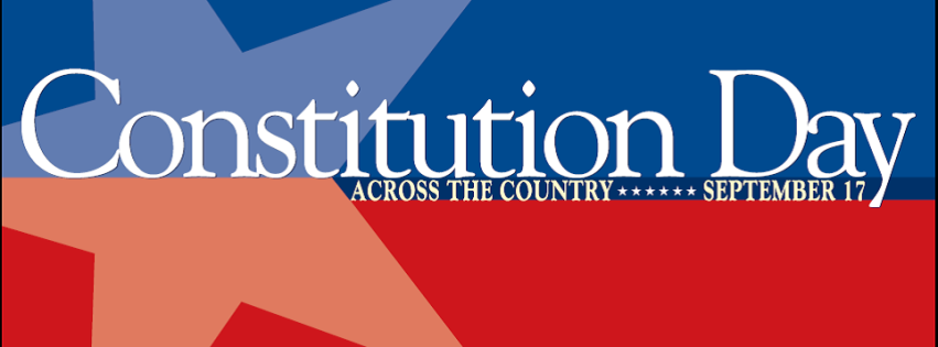 Facebook cover Constitution Day