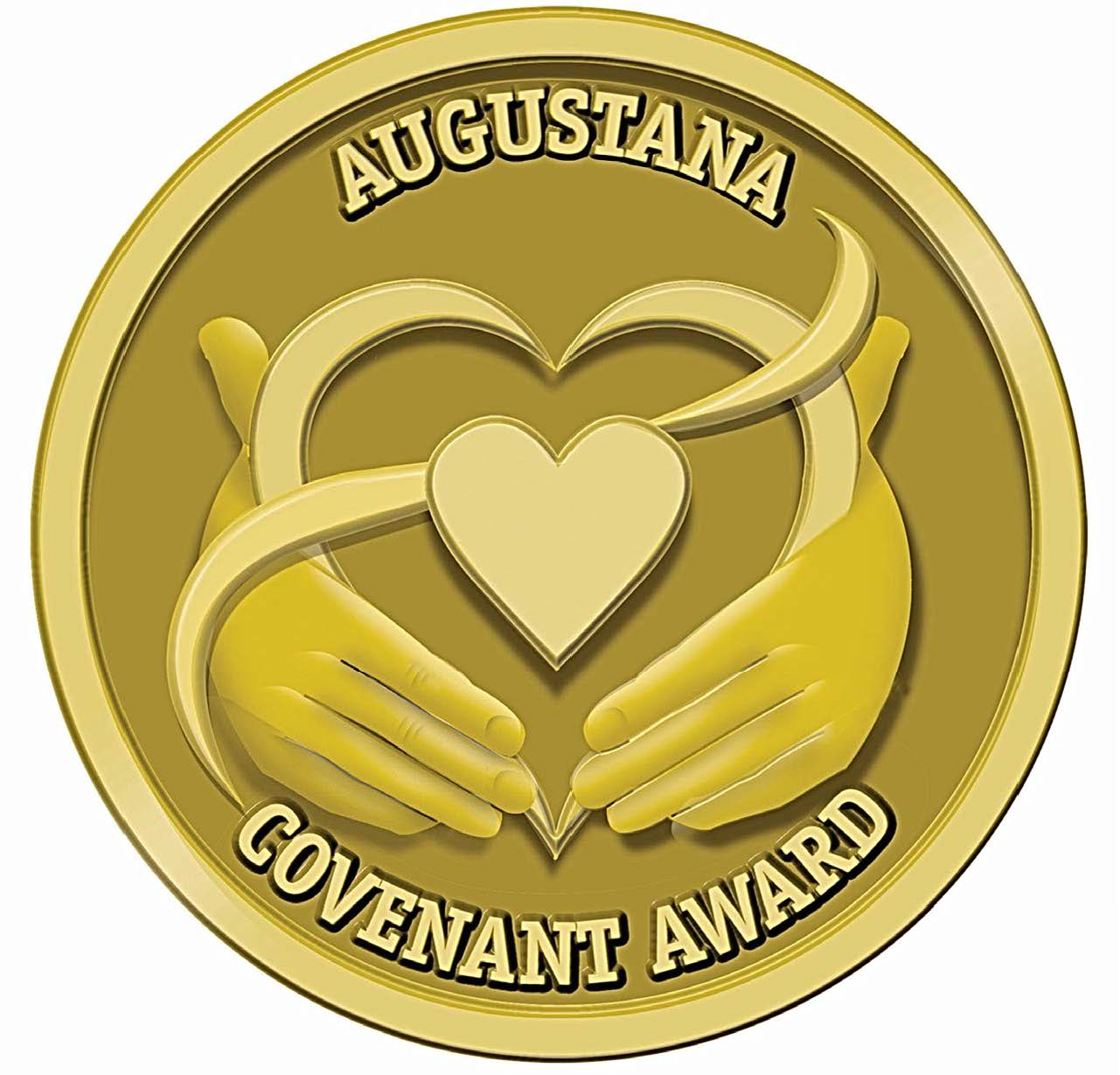 Augustana University Covenant award logo