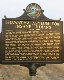 Hiawatha Indian Asylum, Canton