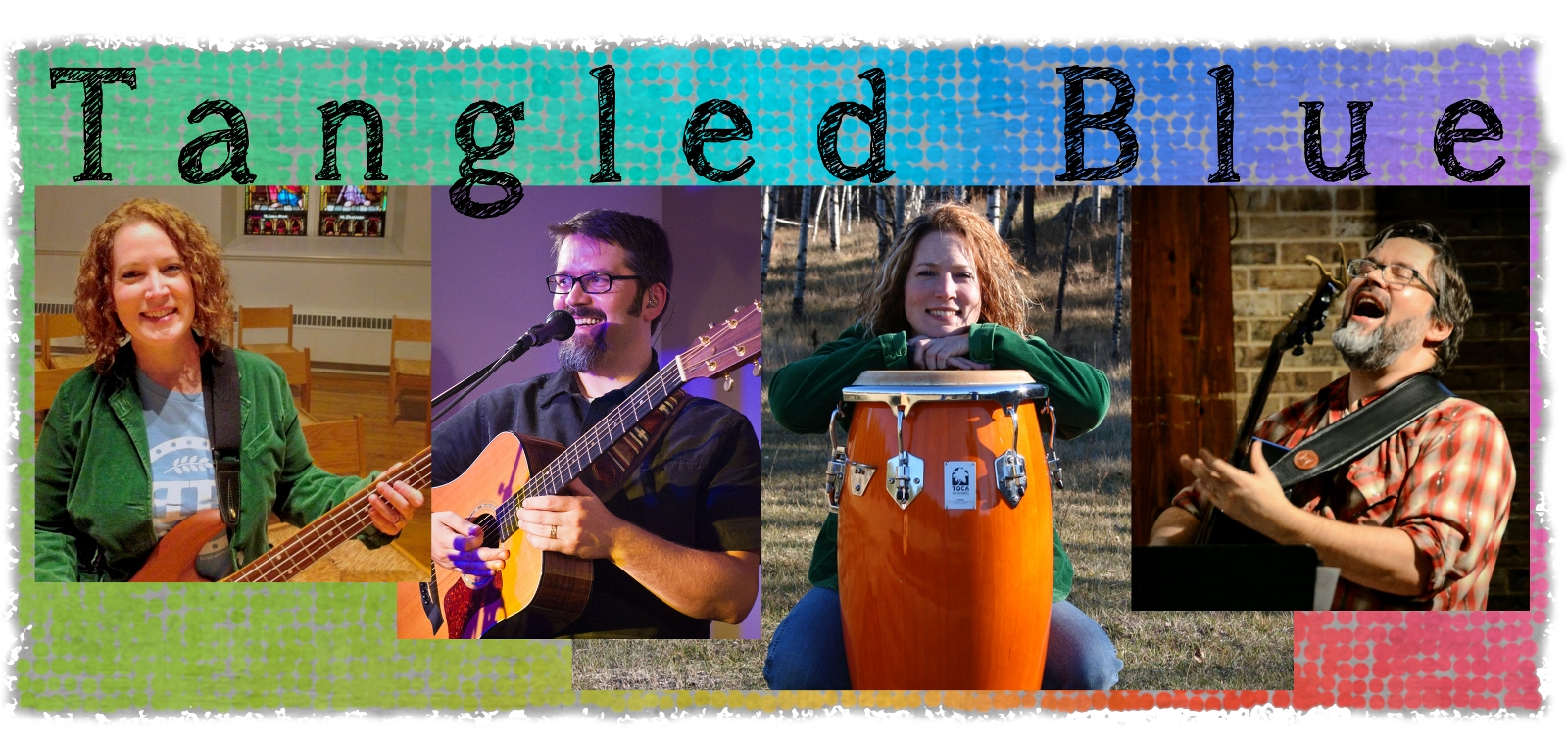 Tangled Blue music group