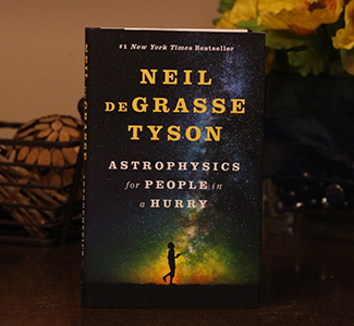 Astrophysics for People in a Hurry, by Neil deGrasse Tyson, for the President's personal library