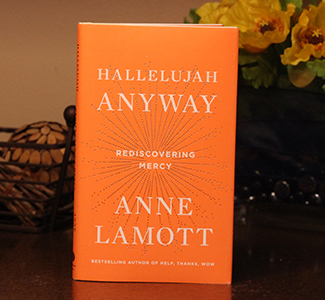 Hallelujah Anyway by Anne Lamott, part of the AU President's personal library