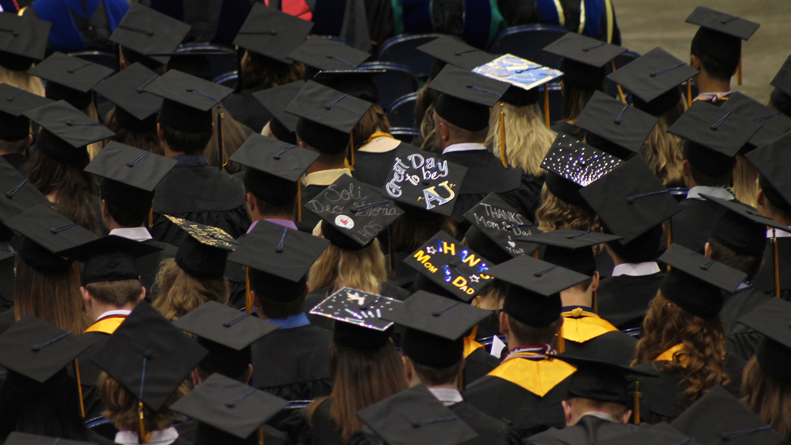commencement at Augustana