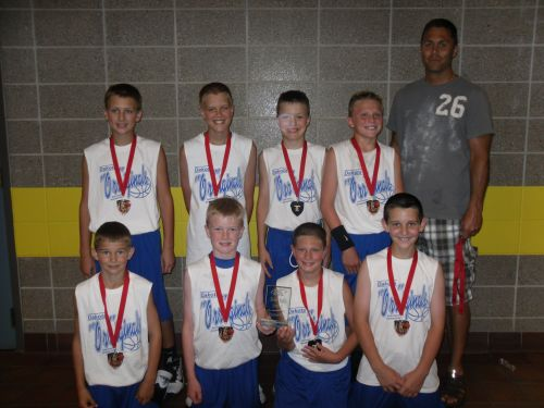 4th Grade Boys 2nd place--Dakota Originals