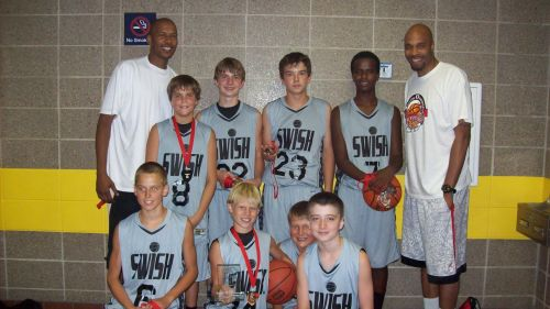 6th Grade Boys 2nd Place--Swish
