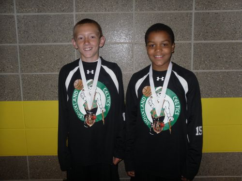 6th Grade Boys 3rd Place-Celtics