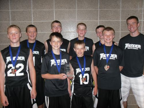 6th Grade Boys 1st Place--Thunder