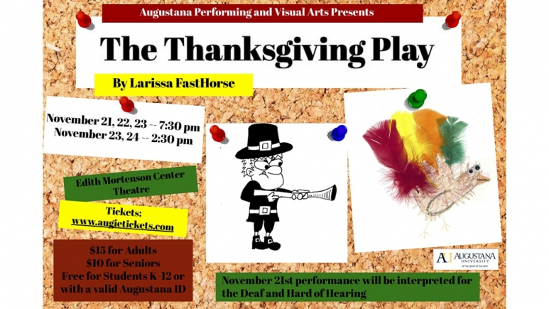 The Thanksgiving Play Poster