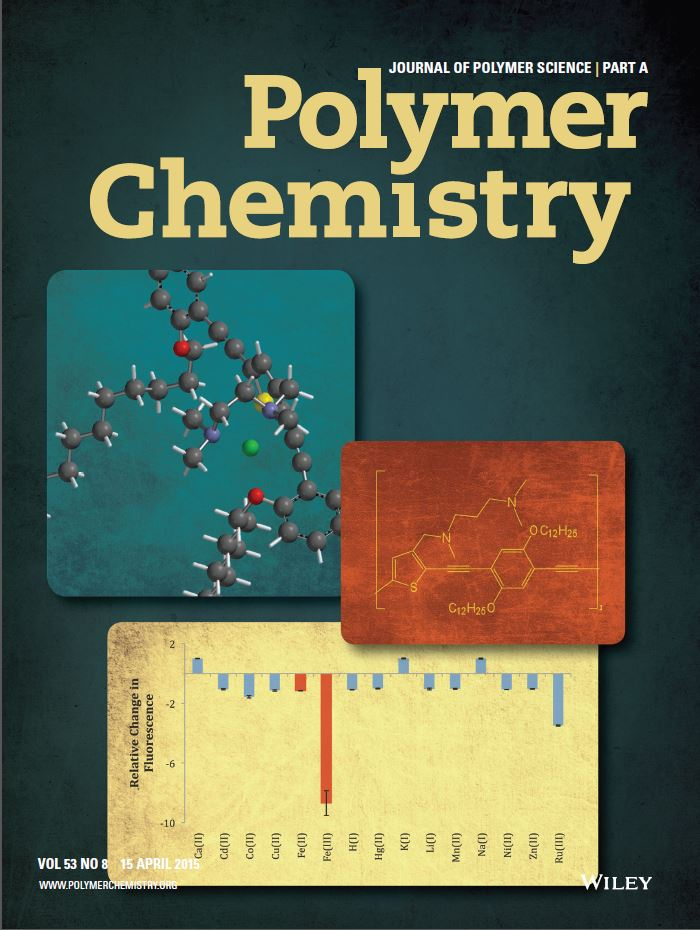 Polymer Chemistry | Journal of Polymer Science (cover)