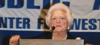 Barbara Bush Speaking at the Boe Forum