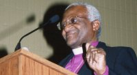 Desmond Tutu at the Boe Forum
