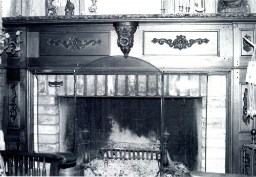 Fireplace Mantel Carved by Jim Savage