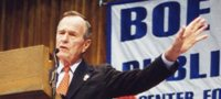 George H. W. Bush Speaking at the Boe Forum