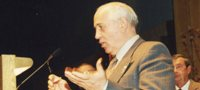 Mikhail Gorbachev Speaking at the Boe Forum