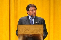 Pervez Musharraf Speaking at the Boe Forum