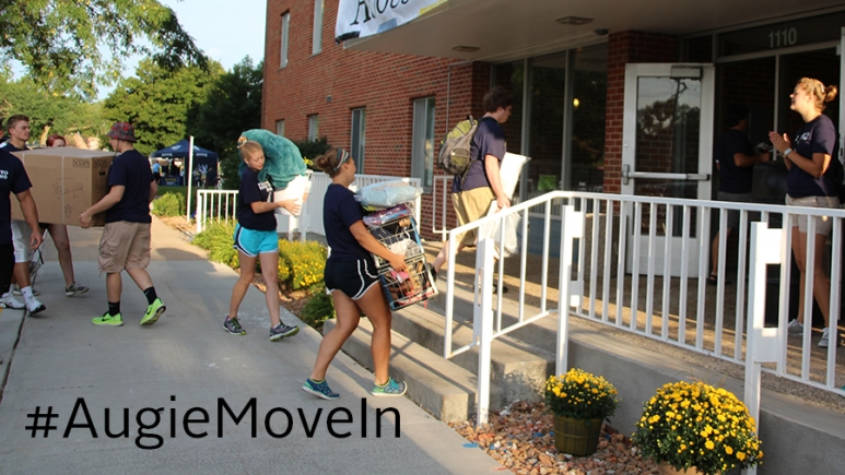 Move-In Day at Augustana University